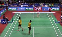 郑景银/金荷娜VS艾米利亚/宋佩珠 2014印度公开赛 女双1/16决赛视频
