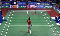 王适娴VS辛德胡 2014印度公开赛 女单1/16决赛视频