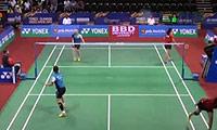 郑景银/金荷娜VS哈里斯/阿凡达 2014印度公开赛 女双1/8决赛视频