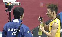 李宗伟VS卡什亚普 2014印度公开赛 男单1/4决赛视频