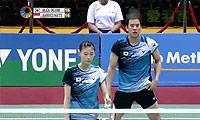 高成炫/金荷娜VS艾哈迈德/纳西尔 2014印度公开赛 混双半决赛视频