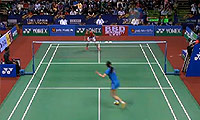 王适娴VS王仪涵 2014印度公开赛 女单半决赛视频