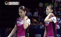 郑景银/金荷娜VS佩蒂森/尤尔 2014印度公开赛 女双半决赛视频