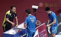 鲍伊/摩根森VS刘小龙/邱子瀚 2014印度公开赛 男双决赛视频