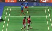 阿山/塞蒂亚万VS阿尔文/维什奴 2014新加坡公开赛 男双1/8决赛视频