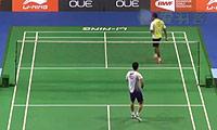 杜鹏宇VS普拉诺 2014新加坡公开赛 男单1/8决赛视频