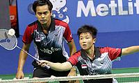艾哈迈德/纳西尔VS维迪安托/蒂莉 2014新加坡公开赛 混双决赛视频