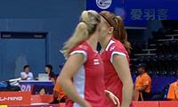 包宜鑫/汤金华VS加布里/L.史密斯 2014尤伯杯 女双资格赛视频