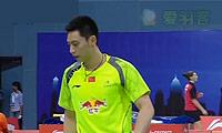 刘小龙/邱子瀚VS索松诺夫/伊万诺夫 2014汤姆斯杯 男双资格赛视频
