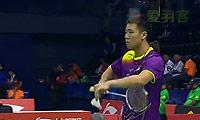 黄晁VS坦农萨克 2014汤姆斯杯 男单资格赛视频