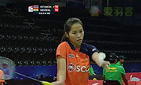 内维尔VS因达农 2014尤伯杯 女单资格赛视频