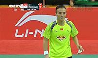 杜鹏宇VS坦农萨克 2014汤姆斯杯 男单1/4决赛视频