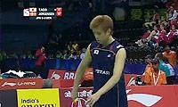 田儿贤一VS约根森 2014汤姆斯杯 男单资格赛视频