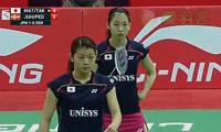 松友美佐纪/高桥礼华VS佩蒂森/尤尔 2014尤伯杯 女单资格赛视频