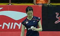 三谷美菜津VS杰克斯菲德 2014尤伯杯 女单资格赛视频