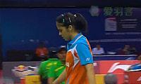 内维尔VS法内特里 2014尤伯杯 女单1/4决赛视频