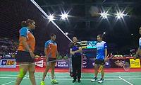 古塔/蓬纳帕VS波莉/尼蒂娅 2014尤伯杯 女双1/4决赛明仕亚洲官网