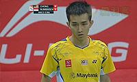 张维峰VS狄奥尼修斯 2014汤姆斯杯 男单半决赛视频