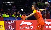 王适娴VS高桥沙也加 2014尤伯杯 女单决赛视频