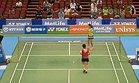 李雪芮VS山口茜 2014日本公开赛 女单1/16决赛视频