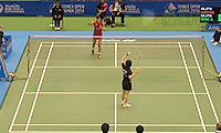广濑荣理子VS峰步美 2014日本公开赛 女单1/16决赛视频