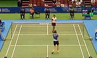 成池铉VS蓬迪 2014日本公开赛 女单1/4决赛明仕亚洲官网