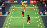 陈文宏/陈炜强VS玛尼蓬/尼迪蓬 2014印尼公开赛 男双1/16决赛视频