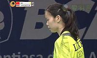 李雪芮VS妮查恩 2014印尼公开赛 女单半决赛视频