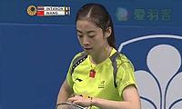因达农VS王适娴 2014印尼公开赛 女单半决赛视频