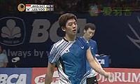 李龙大/柳延星VS阿山/塞蒂亚万 2014印尼公开赛 男双决赛视频