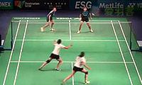 皮娅/普拉蒂普塔VS加德雷/瑞迪 2014澳洲公开赛 女双1/16决赛视频