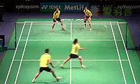徐晨/马晋VS埃特里/瑞迪 2014澳洲公开赛 混双1/16决赛视频
