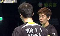 李龙大/柳延星VS云天豪/陈文宏 2014澳洲公开赛 男双半决赛视频