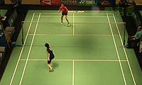 张雁宜VS樱本绚子 2014美国公开赛 女单1/8决赛视频