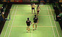 梁睿纬/陆家斌VS卡雷姆/拉巴尔 2014美国公开赛 男双1/4决赛视频