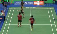陈中仁/陆家斌VS温杜斯/沙旺特 2014台北公开赛 男双1/16决赛视频