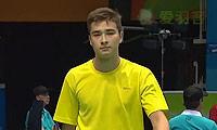 彼得罗维奇VS萨尔谢克诺夫 2014青奥会 男单资格赛视频