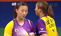 李绍希/申升瓒VS张艺娜/金昭映 2014羽毛球世锦赛 女双1/4决赛视频