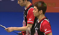 李龙大/柳延星VS鲍伊/摩根森 2014羽毛球世锦赛 男双半决赛视频
