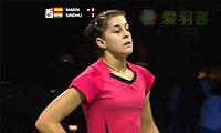 马琳VS辛德胡 2014羽毛球世锦赛 女单半决赛视频