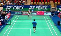 阮天明VS伍家朗 2014越南公开赛 男单1/4决赛视频