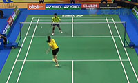 菲尔达萨里VS普尔瓦宁蒂亚斯 2014印尼大师赛 女单半决赛视频