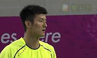孙完虎VS谌龙 2014亚运会 男团男单决赛视频