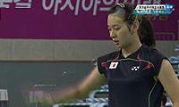戴资颖VS高桥沙也加 2014亚运会 女单资格赛视频