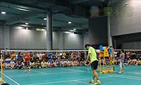 欧阳南军VS张诚 2014重庆棕榈泉杯业余公开赛 公开组男单决赛视频