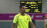 林丹VS谌龙 2014亚运会 男单决赛视频