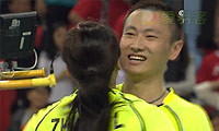 张楠/赵芸蕾VS艾哈迈德/纳西尔 2014亚运会 混双决赛视频