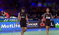 艾哈迈德/纳西尔VS维迪安托/蒂莉 2014丹麦公开赛 混双半决赛视频