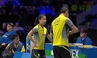 徐晨/马晋VS刘成/包宜鑫 2014丹麦公开赛 混双半决赛视频