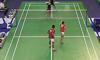徐晨/马晋VS尼尔森/罗布克 2014法国公开赛 混双1/16决赛视频
